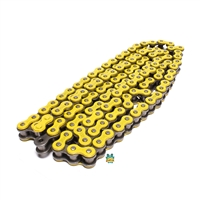 doppler 420 YELLOW motorcycle chain - 134 links