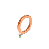 OVERSIZE copper exhaust gasket for hobbit - 24mm ID