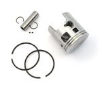 malossi vespa piston for 46.5mm cylinders - 12 pin