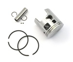 malossi vespa piston for 46.5mm cylinders - 10 pin