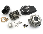 minarelli V1 DR 38.8mm complete kit + head + more + black cover