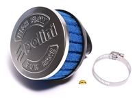 polini LIL 30° angle blue foam PHVA 37mm air filter