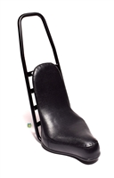 puch moped EXOTIC chopper seat - BLACK COBRA