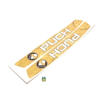 puch maxi decals - gold LEAF
