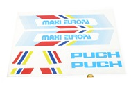 puch maxi EUROPA decal set
