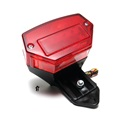 SIM red n black secret many LED tail light