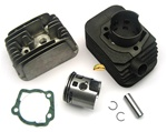 vespa moped malossi 73cc 46.5mm cylinder kit 10 pin