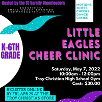 Little Eagles Cheer Clinic