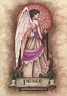 Peace Angel Virtue home accent Wall Art Print