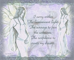 Kaleiah Faerie of Courage Wall Art