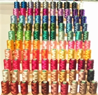 100 Rayon Machine Embroidery Threads 100 Colors