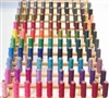 100 Spools of Polyster Thread for sewing or quilting.
