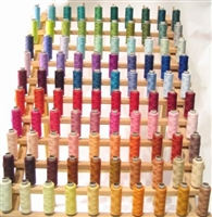 200 Spools of Polyester sewing quilting thread - Assorted Colors