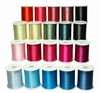 20 Spools of Poly Embroidery Thread Colors from ThreadNanny