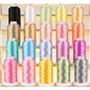 20 Pastel Colors of Premium Quality Polyester Embroidery Thread