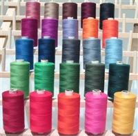 ThreadNanny 25 Standard Color Large Spools of 3-PLY Polyester thread