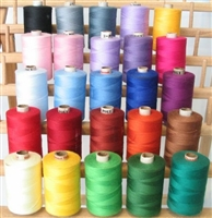 ThreadNanny 25 Regular Color Large Spools of 3-PLY Polyester thread