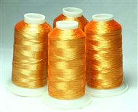 Christmas Gold Metallic Embroidery Thread Spools from ThreadNanny