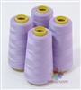 4 Large Cones of Polyester thread in Lilac with 3000 yards each