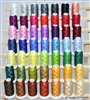 50 Large Cones of Thread, Rack, and Bobbins
