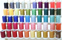 Poly Machine Embroidery Thread 50 Mini King Cones