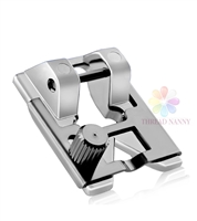 Braiding Sewing Machine Presser Foot Fits All Low Shank Snap-On Sewing Machines by ThreadNanny