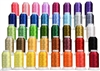 Brother 40 Colors Embroidery Thread Set with 40wt Polyester Thread 500 Meters