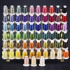 ThreadNanny 63 Brother Colors Embroidery Thread Set 40wt Polyester 550yds