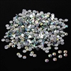10,000pc bulk 3mm 10ss AB Crystal Loose Rhinestone Hot Fix