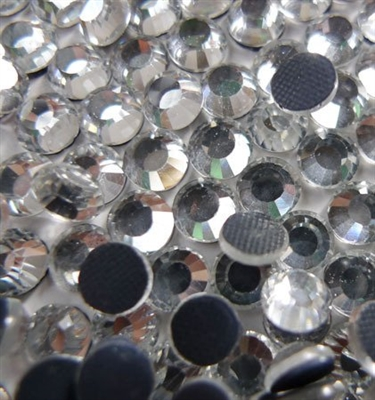 4,000pc bulk 5mm 20ss CLEAR Crystal Loose Rhinestone Hot Fix