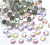 4,000pc bulk 5mm 20ss AB Crystal Loose Rhinestone Hot Fix