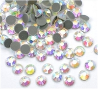 2500 pcs Bulk 6mm 30ss AB Crystal Loose Rhinestone Hot Fix Best Quality from ThreadNanny