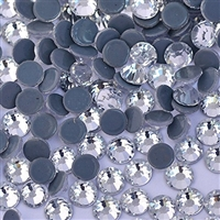 2500pc Bulk 6mm 30ss Clear Crystal Loose Rhinestone Hot Fix
