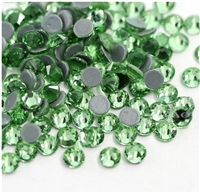 Hotfix 3mm Rhinestones in Light Green / Amethyst by ThreadNanny