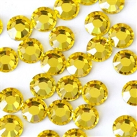 Hotfix 4mm Rhinestones in Citrine by ThreadNanny