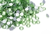 Hotfix 4mm Rhinestones in Light Green / Amethyst by ThreadNanny