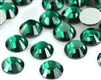 Hotfix 5mm Rhinestones in Emerald Green by ThreadNanny