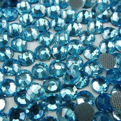 Hotfix 5mm Rhinestones in Sky Blue by ThreadNanny