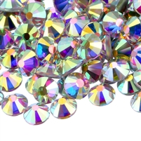HotFix Rhinestones AB Crystals - 6mm/30ss CZECH Quality 2gross (288 pcs) AB Color from ThreadNanny