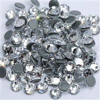 NEW ThreadNanny CZECH Quality 2gross (288 pcs) HotFix Rhinestones Crystals - 6mm/30ss, Crystal/Clear Color