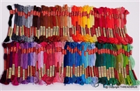 100 Skeins ThreadNanny DMC Color Embroidery Cross Stitch Thread