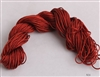 ThreadNanny 25 Yards of 2mm Satin Chinese Knot Cord in Brown