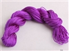 ThreadNanny 25 Yards of 2mm Satin Chinese Knot Cord in Purple