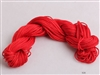 ThreadNanny 25 Yards of 2mm Satin Chinese Knot Cord in Red