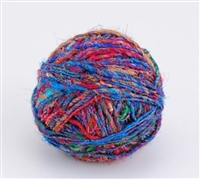 ThreadNanny Himalayan 100% Pure Silk Yarn for Knitting - Electro