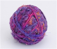 ThreadNanny Himalayan 100% Pure Silk Yarn for Knitting - Blackberry