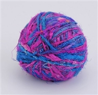 ThreadNanny Himalayan 100% Pure Silk Yarn for Knitting - Electric Pink