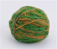 ThreadNanny Himalayan 100% Pure Silk Yarn for Knitting - Rainforest Green