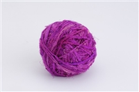 ThreadNanny Himalayan 100% Pure Silk Yarn for Knitting - Plum