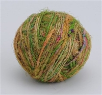 ThreadNanny Himalayan 100% Pure Silk Yarn for Knitting - Greens